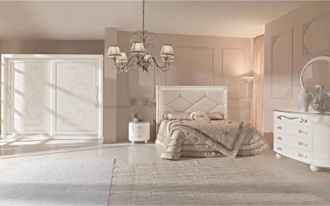 Camere da letto matrimoniali classiche collezione - Arredamenti camere matrimoniali ...