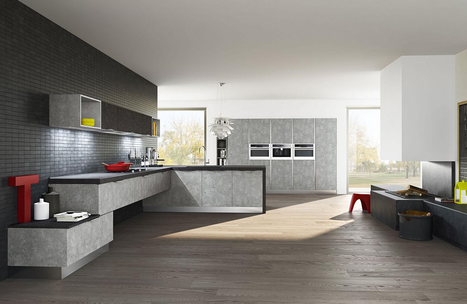 Cucine Moderne Noce Chiaro: Arredare una cucina con isola ...