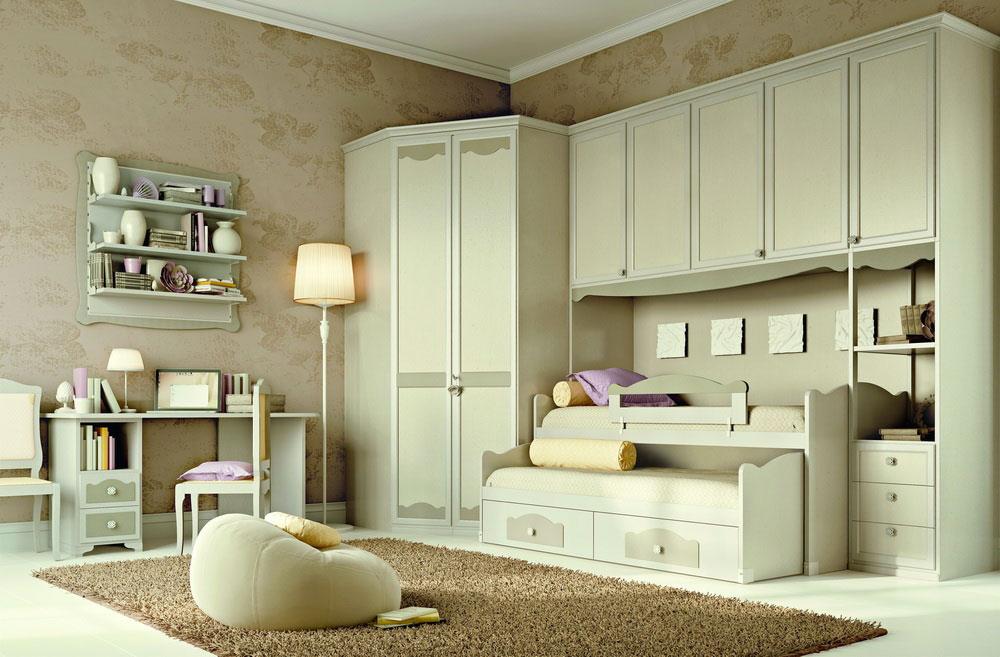 Camerette moderne della collezione k08 olto arredamenti for Camerette particolari per bambini