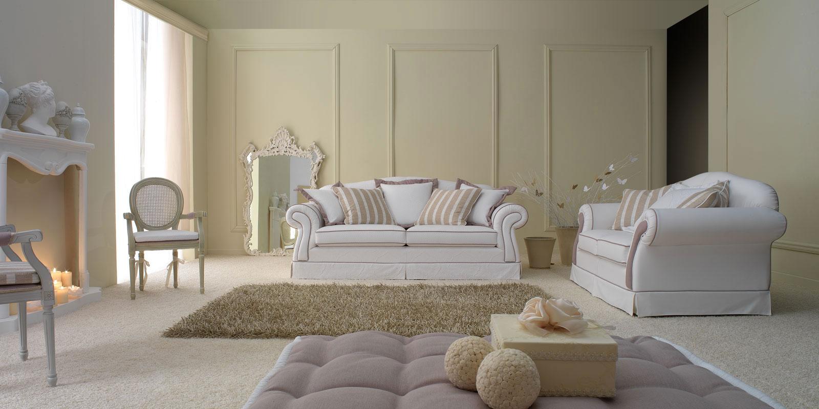 Salotto classico arredamento con camino: arredare salotto moderno ...
