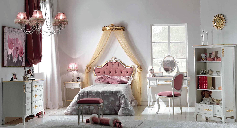 Camerette da principesse camerette romantiche per ragazze - Letto da principessa ...