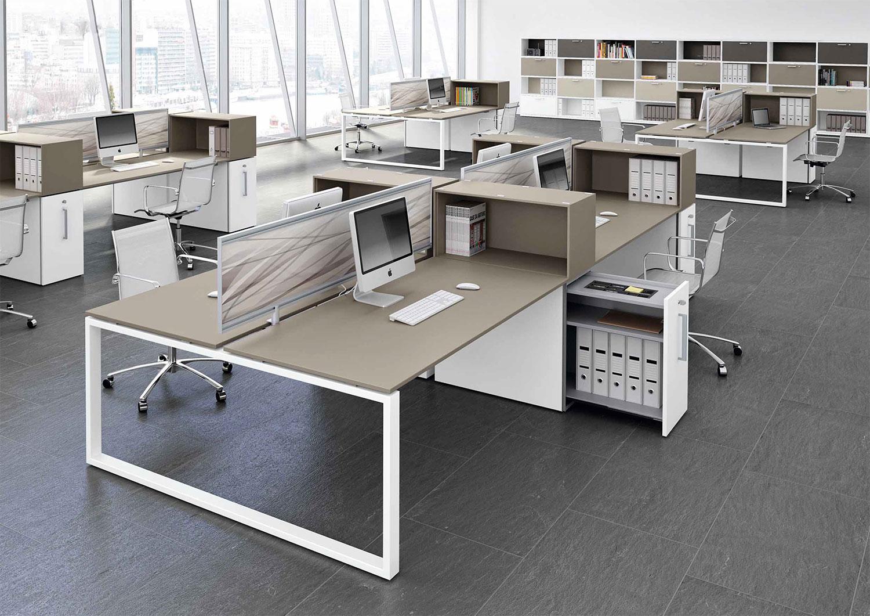 Arredo Ufficio Grigio : Arredamento ufficio bado office interior design mobili per