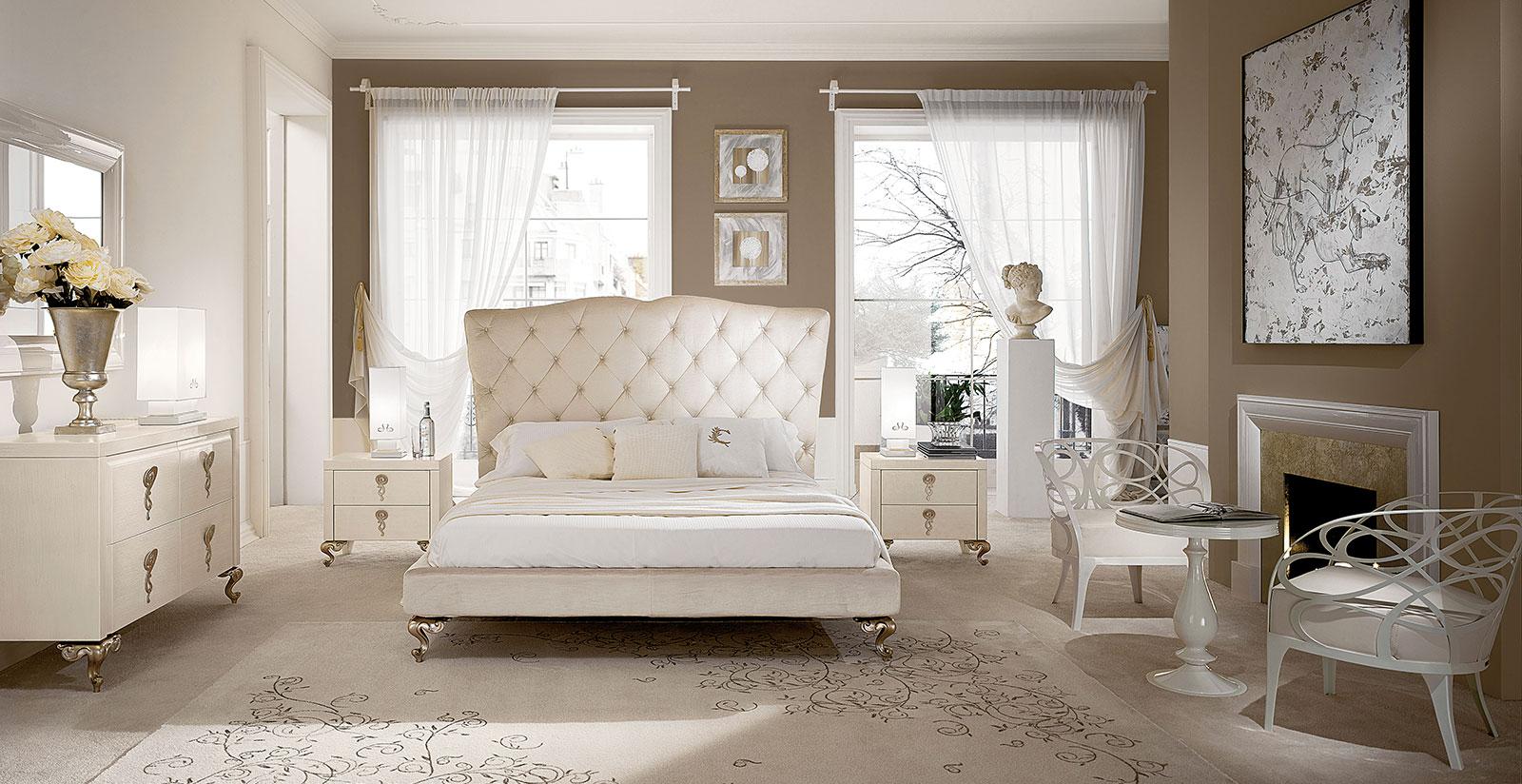 Camere da letto moderne della collezione mediterranean for Camere da letto minimal chic